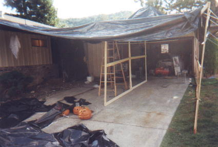 Construction of Halloween 1999